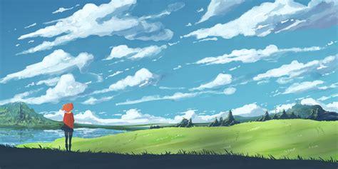 anime landscape wallpaper hd page    wallpaperwiki
