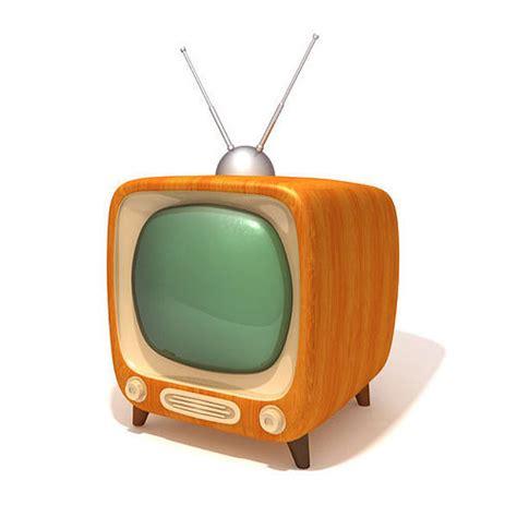 tv möbel retro tv retro television 3d asset cgtrader