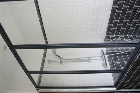 porte de bureau en verre une verrière atelier d 39 artiste en acier inxoyadable pour