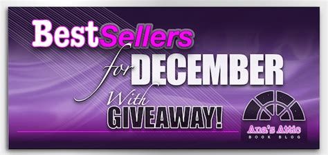 Best Sellers 2013 by Best Sellers For December 2013 With Giveaway S Attic