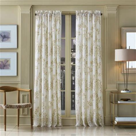 j queen new york winslow botanical print window curtain