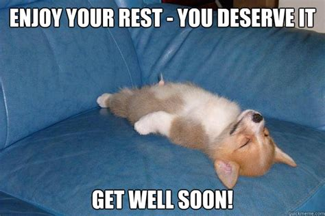 Get Well Soon Meme Funny - 20 cutest memes for your sick friend sayingimages com