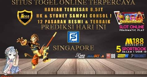 Prediksi Togel Singapore Jitu Dan Data Pengeluaran SGP ...