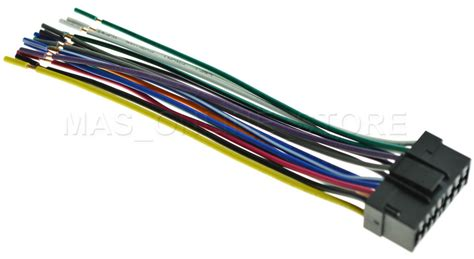 Sony Car Audio Wire Harnes by Wire Harness For Sony Xav 601bt Xav601bt Xav 64bt Xav64bt
