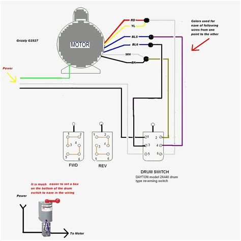 Dayton Electric Motors Wiring Diagram Gallery
