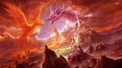 Phoenix Wallpapers Px Dragon Backgrounds Bsnscb