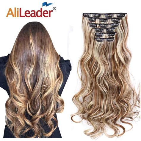 Alileader 22synthetic Long Curly Hair Heat Resistant