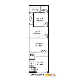 50 Foot Wide House Plans by House Plan For 16 By 54 Plot Plot Size 96