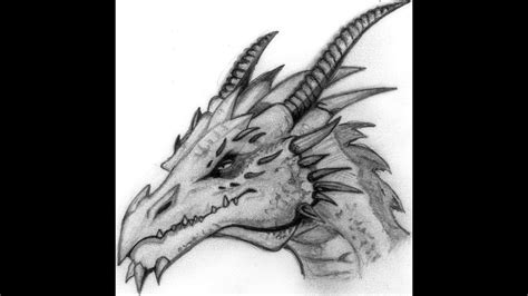 draw  dragon head step  step  beginners