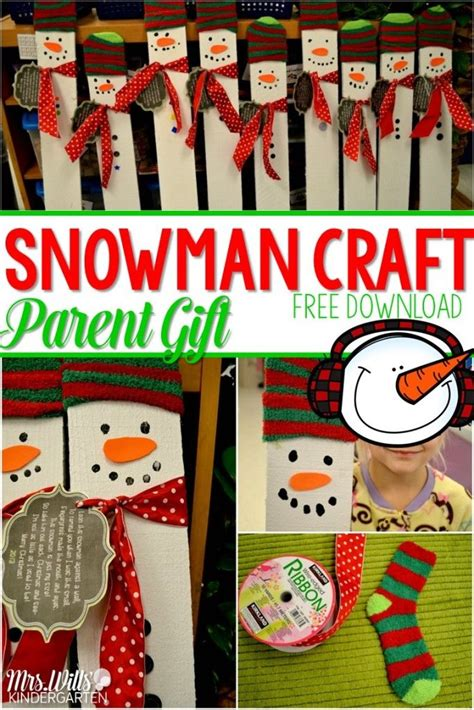 my favorite kindergarten christmas craft free download