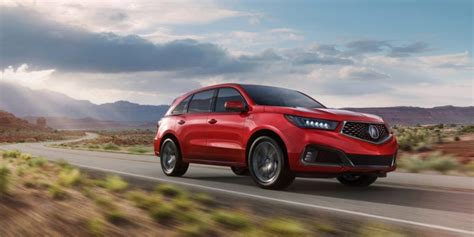 2019 Acura SUV : 2019 Acura Mdx A-spec Debuts At New York International