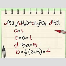 How To Balance Chemical Equations 10 Steps (with Pictures