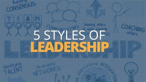 types  leadership styles brian tracy youtube