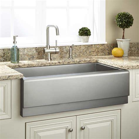 stainless steel farm sink 33 quot executive zero radius stainless steel farmhouse sink