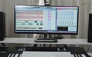 Zwei Monitore Verbinden : 21 9 singlescreen monitore f rs home studio ~ Jslefanu.com Haus und Dekorationen