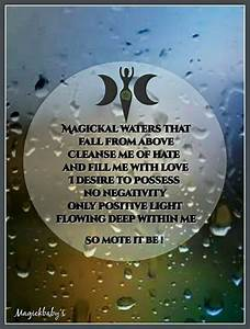 Magical Waters That Fall Above Me  Cleanse Me Of Hate And