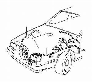 3544840 - Wiring Harness  Cable  Compartment  Engine