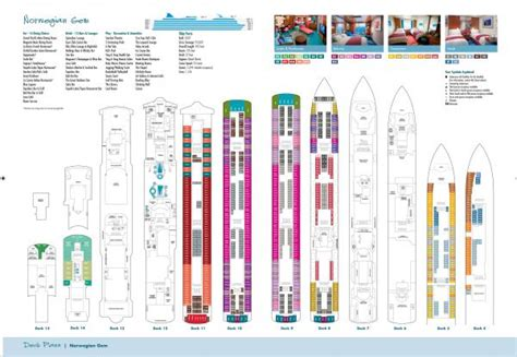 Gem Deck Plan 9 by Gem Cruise Line Rol Cruise