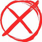 Icon Yes Cross Clipart Grunge Transparent Dont