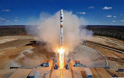 Soyuz Rocket Launch Space Russia Vostochny 4k
