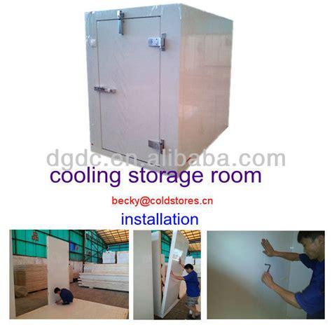 chambre de refroidissement de stockage de refroidissement chambre à échelle