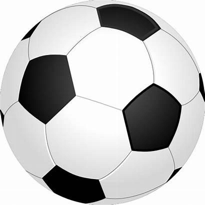 Ball Soccer Clker Clip Clipart Balls Football