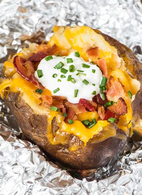 baked potatoes how to make crock pot baked potatoes well plated by erin