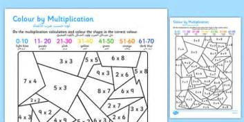 color in translation black and white colour by multiplication arabic translation