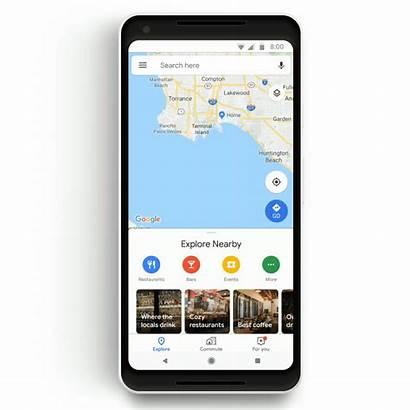 Google Maps Update Less Commuting Stressful Aims