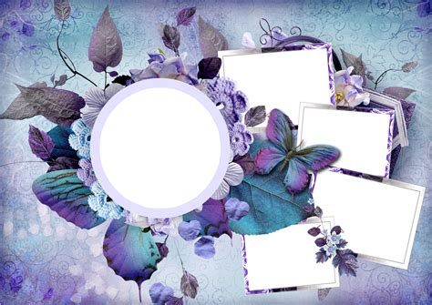 library  flower collage png library  png files