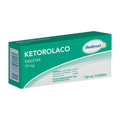 ketorolaco   sirve dosis formula  generico