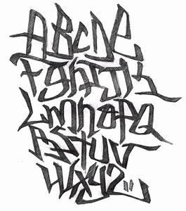 Graffiti Alphabet Block Letters A Z 3d Letters Example
