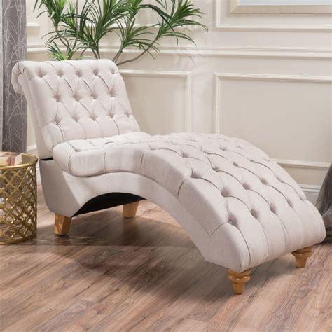 Bellanca Fabric Tufted Chaise Lounge Chair Ebay