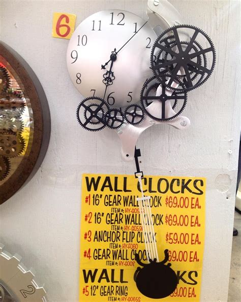 wall clock  moving gears   pendulum