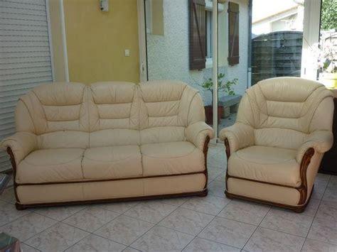 canapé convertible roche et bobois fauteuil cuir occasion clasf