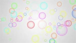 Rainbow Bubble Background HD1080 Stock Footage Video ...