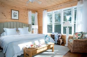 bathroom window treatment ideas shiplap pine gives canadian lake house a cozy feel eastern white pine