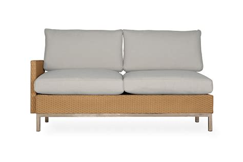 Settee With Arms by Elements Right Arm Settee 203049
