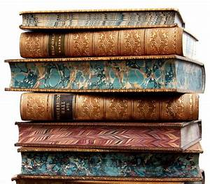 Old Books & Things.., 19th century leather bound books ...