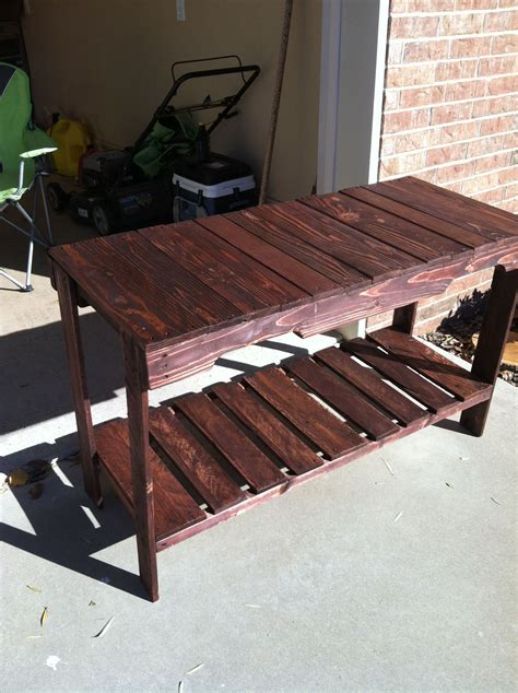 Inexpensive Sofa Tables by Cheap And Easy To Make Pallet Sofa Table Pallets Designs