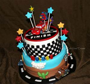 My Cake Sweet Dreams: Cars Cake