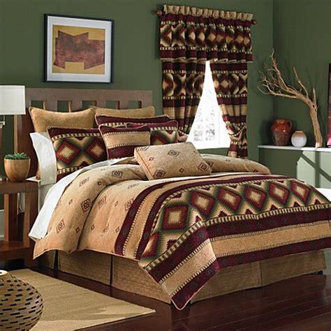 croscill navajo  piece comforter set bed bath