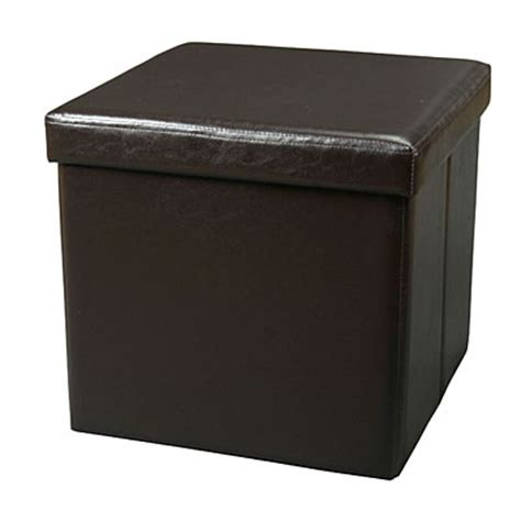 sit and store ottoman view style it square store sit ottoman espresso deals