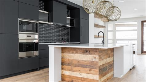 urban style kitchen design cabinets ateliers jacob calgary