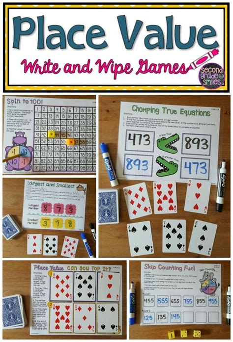 second grade place value games math made fun place