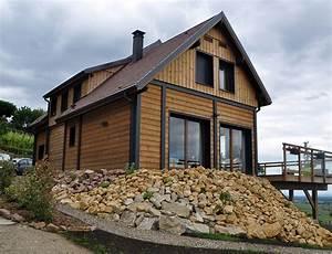 Style De Maison : grande maison bois style chalet nos maisons ossatures bois ~ Dallasstarsshop.com Idées de Décoration