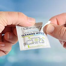 Amazon.com: Care Touch Lens Cleaning Wipes | 210 Pre