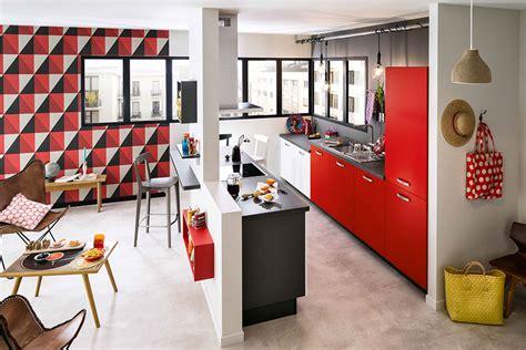 meuble cuisine ilot central cuisine ouverte sur ilot central meuble de rangement