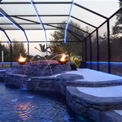 pool enclosure lighting retractable swimming pool enclosures lighting ideas