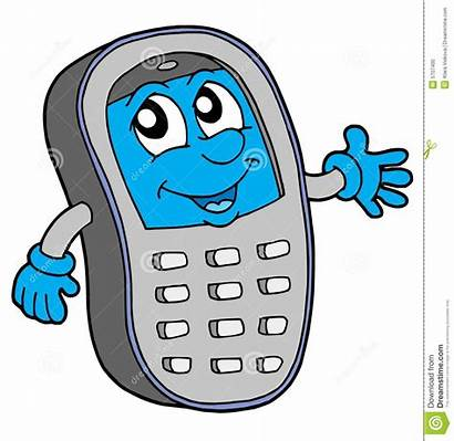 Phone Cell Illustration Vector Mobile Phones Hand